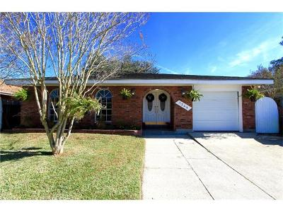 Metairie Single Family Home For Sale: 1349 Focis Street