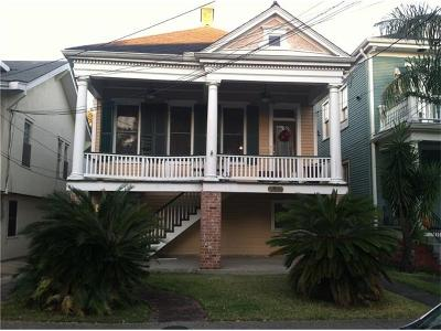 New Orleans Multi Family Home For Sale: 8015 Spruce Street