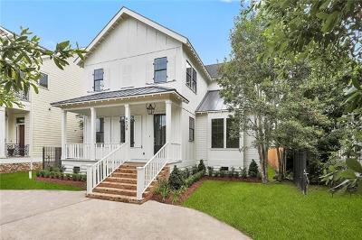 Lakeview Single Family Home For Sale: 6038 Canal Boulevard