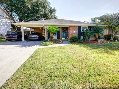 Gretna Single Family Home For Sale: 757 Goucher Street