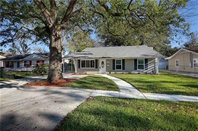 River Ridge, Harahan Single Family Home For Sale: 309 Upland Avenue