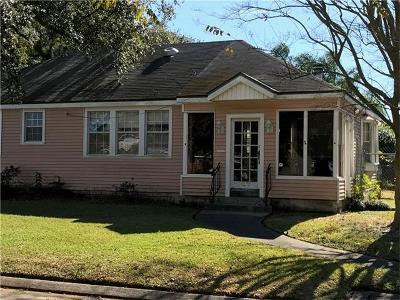 Metairie Single Family Home For Sale: 4500 Chalfant Drive