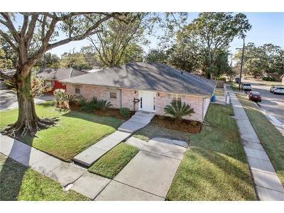 Kenner Single Family Home For Sale: 2357 Roosevelt Boulevard