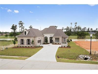 Madisonville Single Family Home For Sale: 708 Night Heron Lane