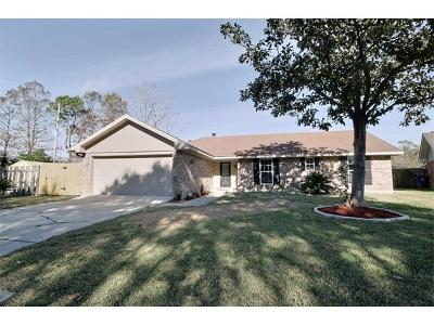 Destrehan Single Family Home For Sale: 57 Parlange Drive
