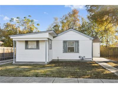 New Orleans Single Family Home For Sale: 4521 Stemway Drive