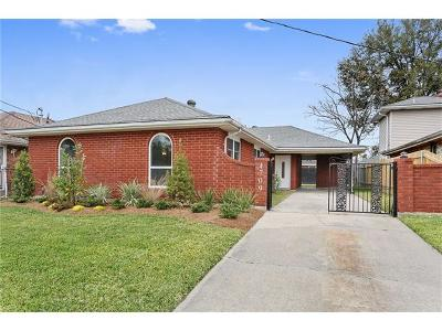 New Orleans Single Family Home For Sale: 4709 Mithra Street