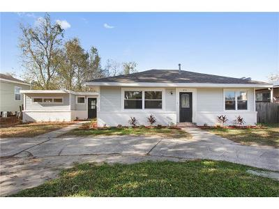 New Orleans Single Family Home For Sale: 1751 Pratt Drive