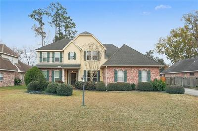 Mandeville Single Family Home For Sale: 1557 Stillwater Drive
