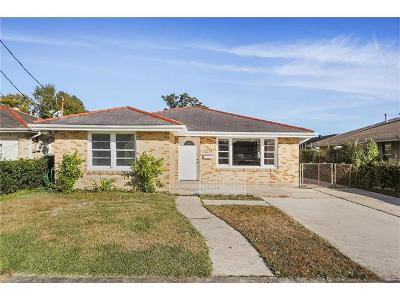 Metairie Single Family Home For Sale: 3211 47th Street