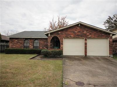 Gretna Single Family Home Pending Continue to Show: 545 Wall Boulevard