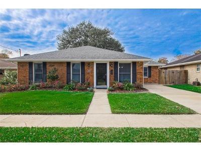 Metairie Single Family Home For Sale: 4612 Tartan Drive