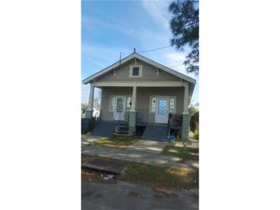 New Orleans Multi Family Home For Sale: 1104 Leboeuf Street
