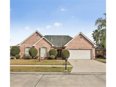 Marrero Single Family Home For Sale: 2629 Crestway Road