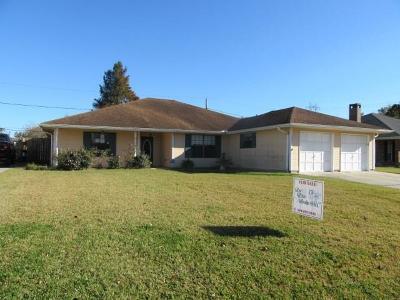 Westwego Single Family Home For Sale: 1361 Chipley Street