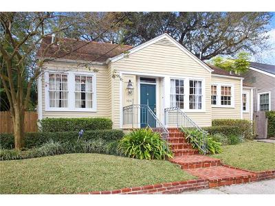 New Orleans Single Family Home For Sale: 104 Maryland Drive