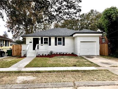 Metairie Single Family Home For Sale: 504 Henry Landry Avenue