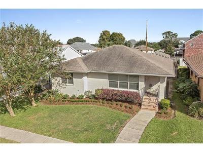 New Orleans Single Family Home For Sale: 6415 Argonne Boulevard