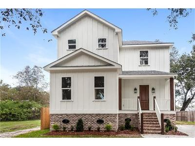 New Orleans Single Family Home For Sale: 1435 Madrid Street