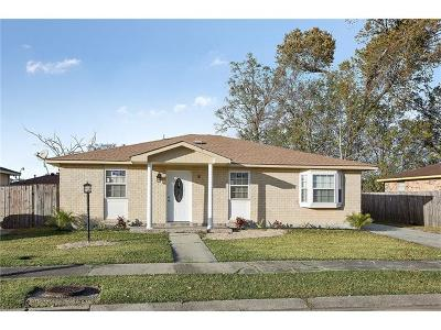 Marrero Single Family Home Pending Continue to Show: 2520 Wyoming Drive