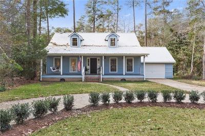 Covington Single Family Home For Sale: 20 Riverbend Drive