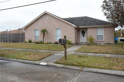 Mereaux, Meraux Single Family Home For Sale: 3124 Fable Drive
