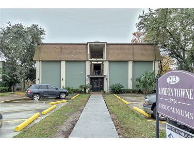 Jefferson Parish, Orleans Parish Condo For Sale: 222 London Avenue #216