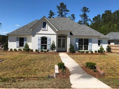 Madisonville Single Family Home For Sale: Lot 14 Spring Haven Lane