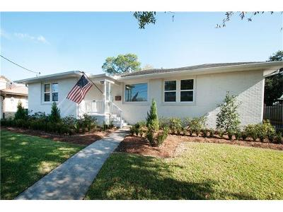 Metairie Single Family Home Pending Continue to Show: 751 E William David Parkway