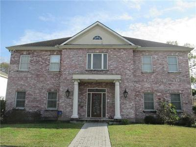 Metairie Single Family Home For Sale: 1135 Orion Street