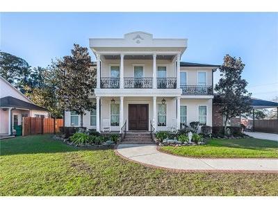 River Ridge, Harahan Single Family Home For Sale: 712 Stewart Avenue