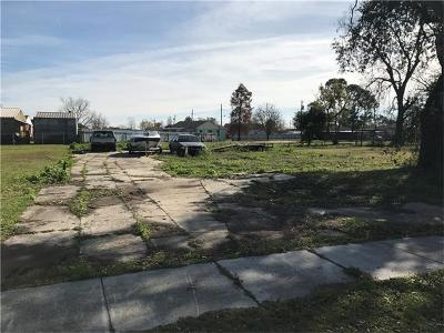 Arabi Residential Lots & Land For Sale: 1711 Alexander Avenue
