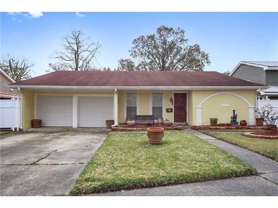 Gretna Single Family Home For Sale: 852 Fairfield Avenue