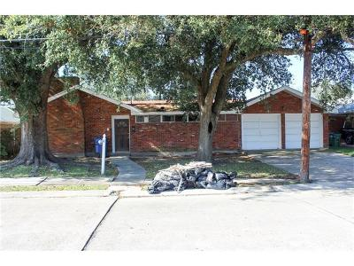 Metairie Single Family Home Pending Continue to Show: 708 W William David Parkway