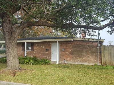 Marrero Single Family Home For Sale: 5156 Page Street