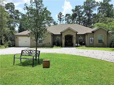 Mandeville Single Family Home For Sale: 204 Pineland Drive