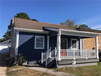 Jefferson Single Family Home For Sale: 1205 Claiborne Drive