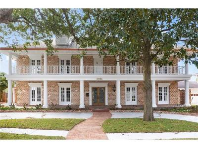Metairie Single Family Home For Sale: 5904 Cleveland Place