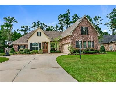 Mandeville Single Family Home For Sale: 1156 Brook Court