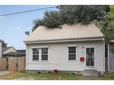 New Orleans Single Family Home For Sale: 619 Austerlitz Street