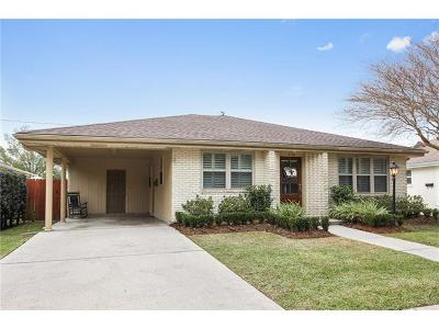 Metairie Single Family Home Pending Continue to Show: 936 Melody Drive