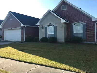Marrero Single Family Home For Sale: 2587 Mill Grove Lane