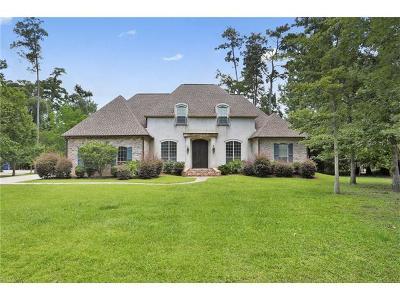 Mandeville Single Family Home For Sale: 9 Heron Lane