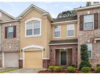 Madisonville Townhouse For Sale: 183 White Heron Drive