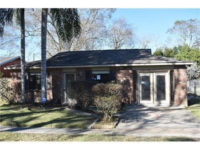 Marrero Single Family Home For Sale: 2848 Pritchard Road