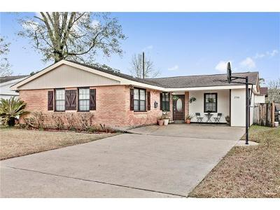 Metairie Single Family Home Pending Continue to Show: 1708 Akron Avenue
