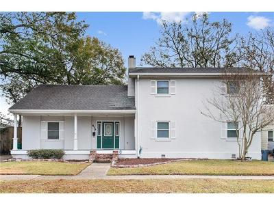 Metairie Single Family Home For Sale: 629 Metairie Lawn Drive