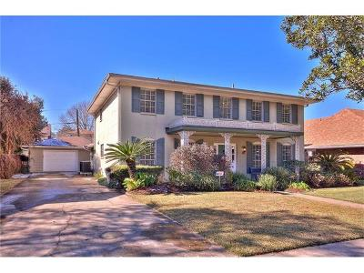 Metairie Single Family Home Pending Continue to Show: 4604 Elmwood Parkway