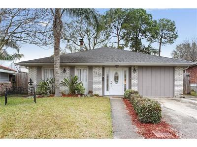 Metairie Single Family Home For Sale: 2113 Fig Street