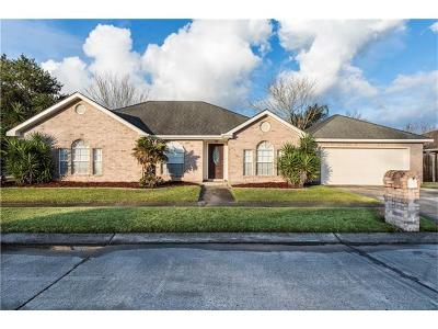 Destrehan Single Family Home Pending Continue to Show: 3753 San Francisco Drive